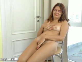 Son blackmails mom into sex creampie
