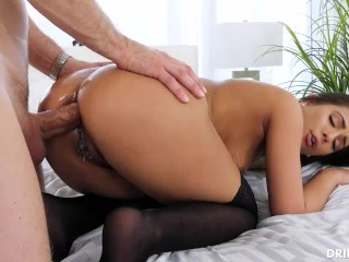 Homemade interracial impregnate creampie